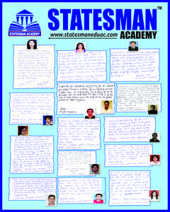 Statesman Academy - Best Institute For UGC NET Coaching in Chandigarh