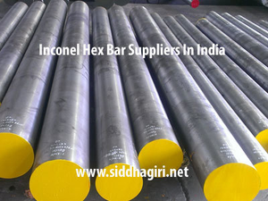 inconel hex bar suppliers in india
