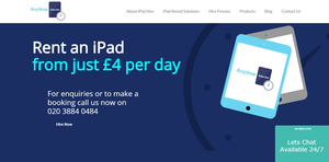 Anytime Tablet Hire UK