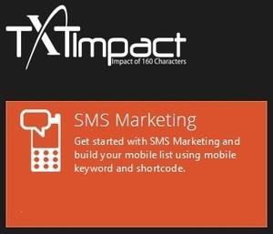 SMS Marketing & Business text messaging: TXTImpact
