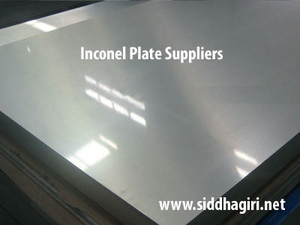 inconel plate suppliers