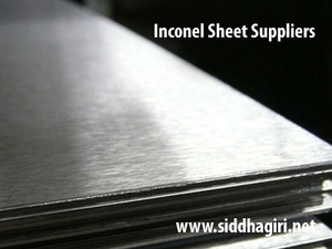 inconel sheet suppliers