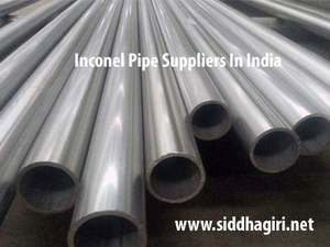 inconel pipe suppliers in india