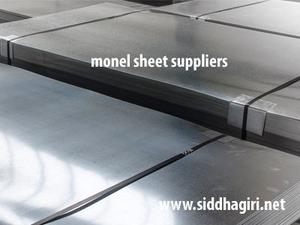 monel sheet suppliers